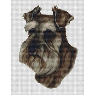Schnauzer Cross Stitch Pattern III
