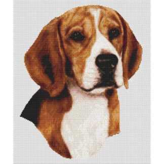 Beagle Cross Stitch Pattern V