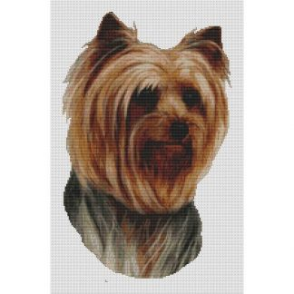 Yorkshire Terrier Cross Stitch Pattern II