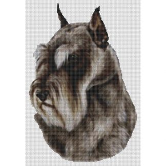 Schnauzer Cross Stitch Pattern