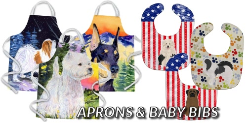 Dog Breed Aprons & Bibs
