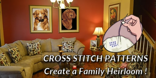 Dog Breed Cross Stitch Patterns