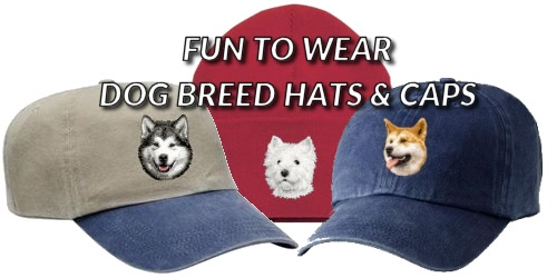 Dog Breed Hats Caps