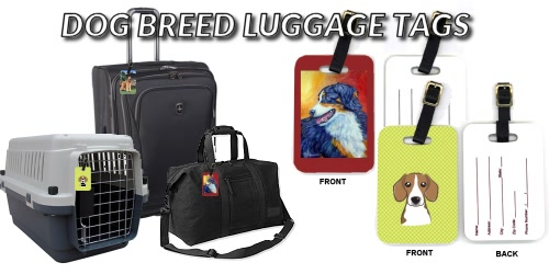 Dog Breed Luggage Tags
