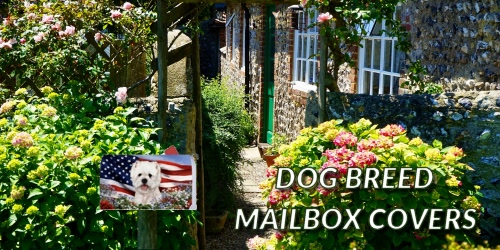 Slider Collage Dog Breed Mailbox Covers