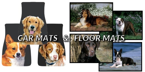 Slider Collage Dog Breed Floor Mats Car Mats
