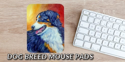 Slider Collage Dog Breed Mousepads