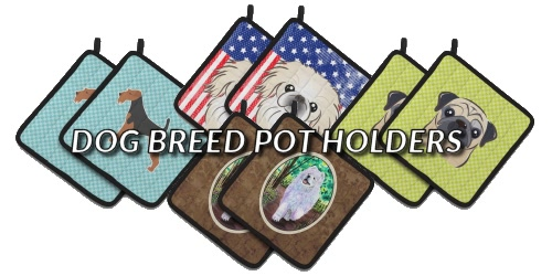 Slider Collage Dog Breed Pot Holders