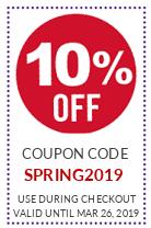SALE 10% Off SPRING2019