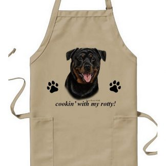 Rottweiler Apron - Cookin