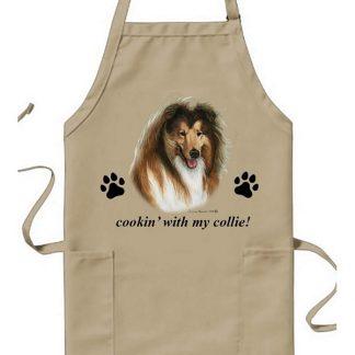 Collie Apron - Cookin