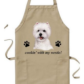 West Highland Terrier Apron - Cookin