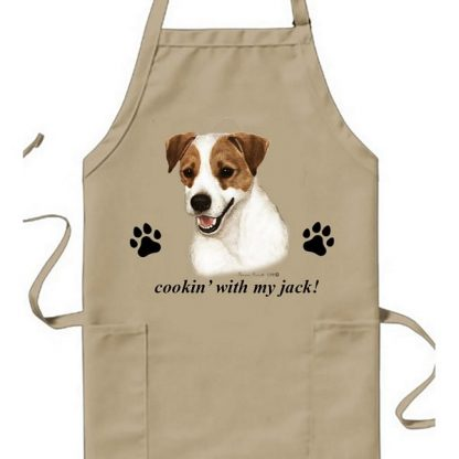 Jack Russell Terrier Apron - Cookin