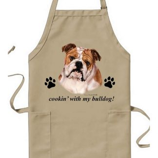 Bulldog Apron - Cookin