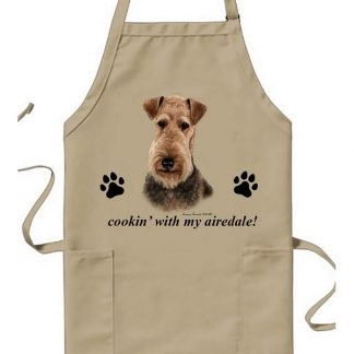 Airedale Terrier Apron - Cookin