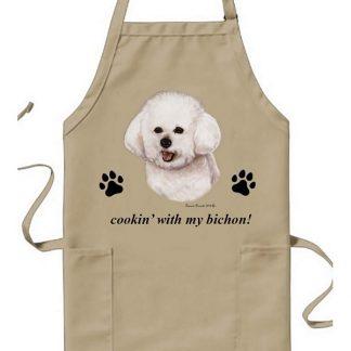 Bichon Frise Apron - Cookin
