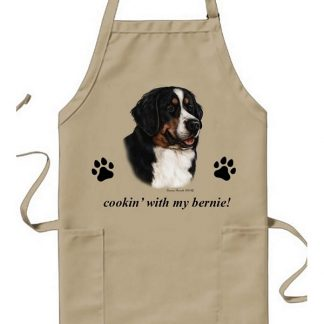Bernese Mountain Dog Apron - Cookin