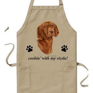 Vizsla Apron - Cookin