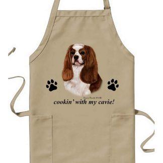 Cavalier Spaniel Apron - Cookin