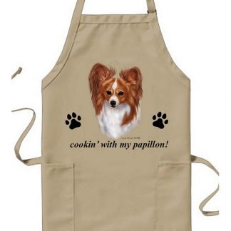 Papillon Apron - Cookin (Red)