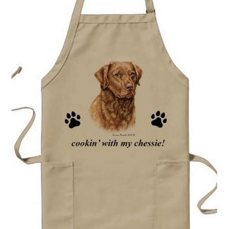 Chesapeake Bay Retriever Apron - Cookin