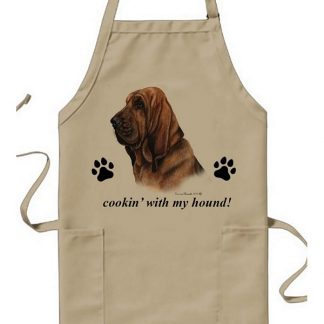Bloodhound Apron - Cookin