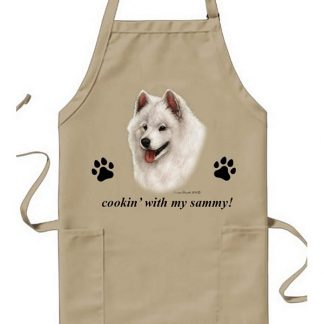 Samoyed Apron - Cookin