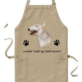 Bull Terrier Apron - Cookin