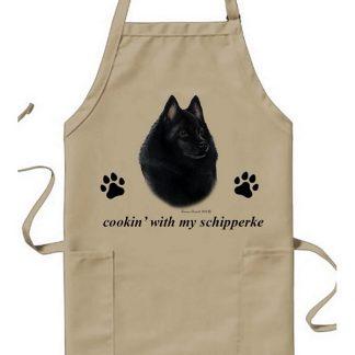Schipperke Apron - Cookin