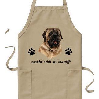 Mastiff Apron - Cookin (Fawn)