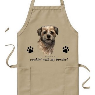 Border Terrier Apron - Cookin