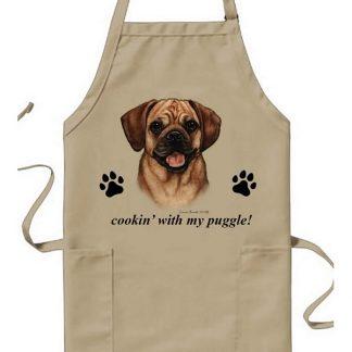 Puggle Apron - Cookin (Fawn)