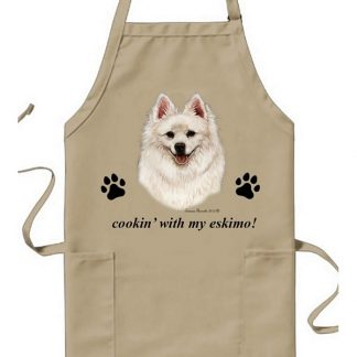 American Eskimo Apron - Cookin