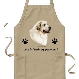 Great Pyrenees Apron - Cookin
