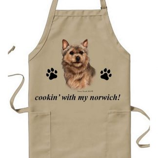 Norwich Terrier Apron - Cookin