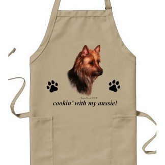 Australian Terrier Apron - Cookin