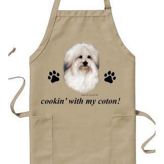 Coton de Tulear Apron - Cookin