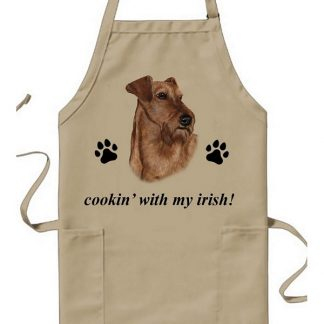 Irish Terrier Apron - Cookin