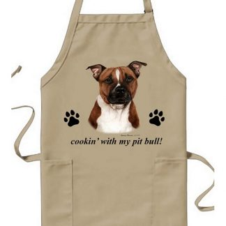 Pitbull Terrier Apron - Cookin