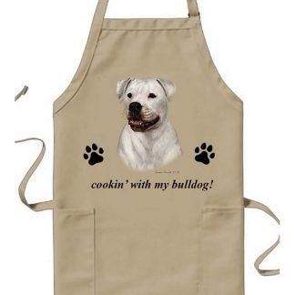 American Bulldog Apron - Cookin