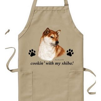 Shiba Inu Apron - Cookin