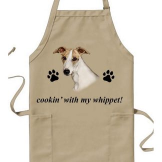 Whippet Apron - Cookin (Fawn)
