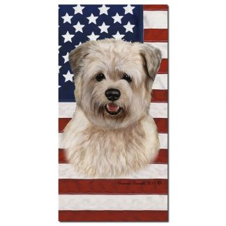 Glen of Imaal Beach Towel - Patriotic (Wheaten)