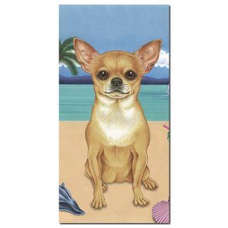 Chihuahua Beach Towel - Summer