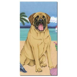 Mastiff Beach Towel - Summer