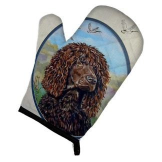 Irish Water Spaniel Oven Mitt