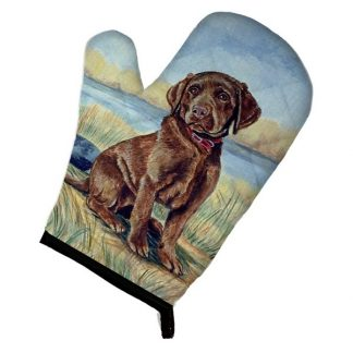 Chocolate Lab Oven Mitt