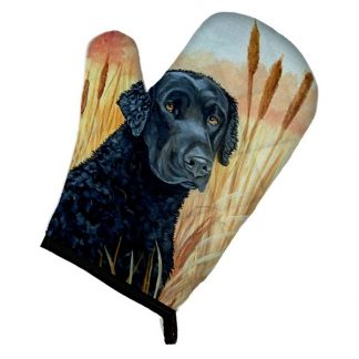 Curly Coated Retriever Oven Mitt