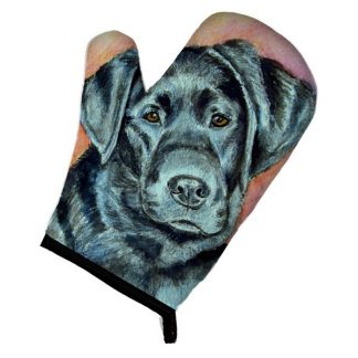 Black Lab Oven Mitt