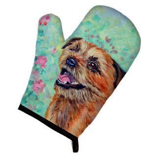 Border Terrier Oven Mitt